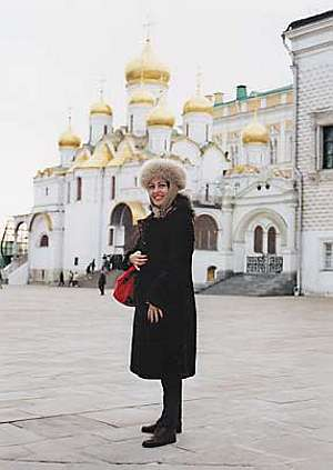 Gülay Princess in Kremlin, Moscow