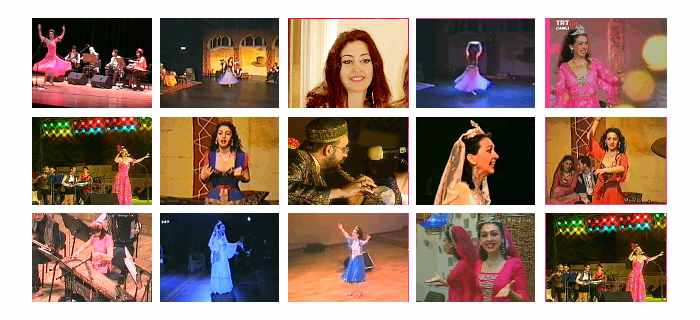 Gülay Princess' former videos (1993 - 2005)