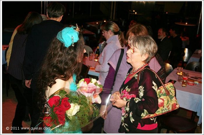Frauke, Vera with Gülay Princess, anniversary concert at Reigen, Vienna (2010)