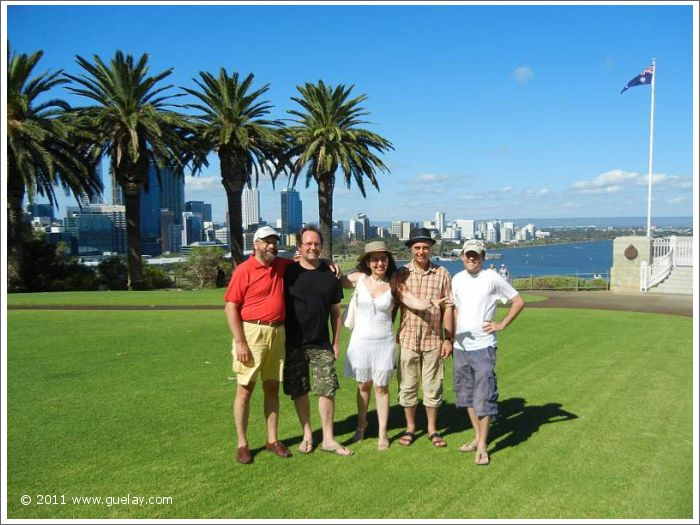Gülay Princess & The Ensemble Aras in Perth, Kings Park, Western Australia