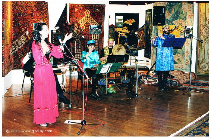 Gülay Princess & The Ensemble Aras at Montforthaus, Feldkirch (2000)