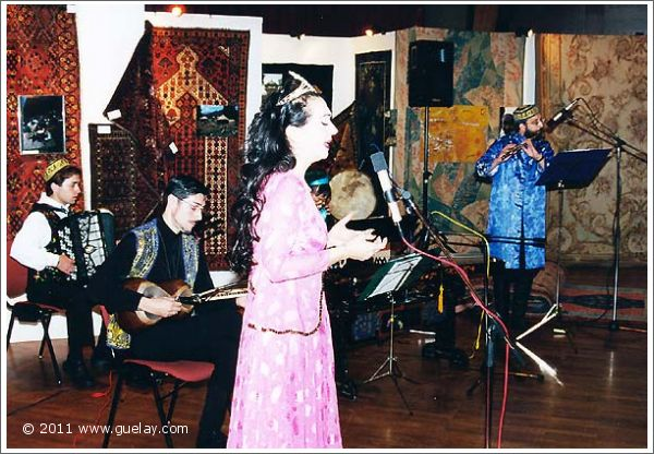 Gülay Princess & The Ensemble Aras concert at Montforthaus, Feldkirch (2000)