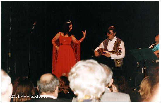 Gülay Princess and Nariman Hodjati at Posthof, Linz (2001)