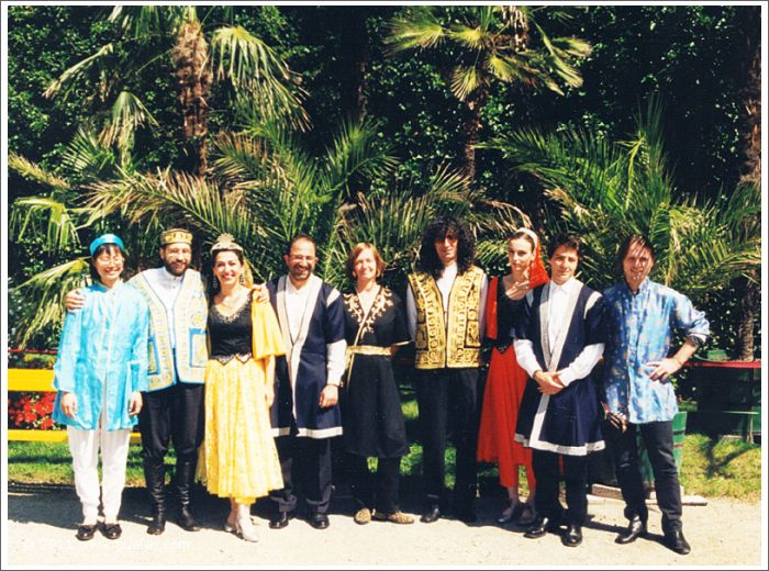 Gülay & The Ensemble Aras at Ambras Castle, Festival of Ancient Music, Innsbruck (1997)