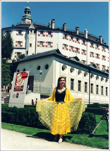 Gülay Princess at Ambras Castle, Innsbruck (1997)