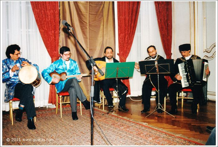 Gülay Princess & The Ensemble Aras at Palais Palffy, Vienna (1991)
