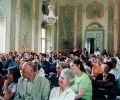 Gülay Princess & The Ensemble Aras audience at St. Georgen Mansion,