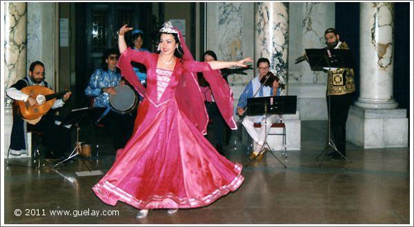 Gülay Princess & The Ensemble Aras at Imperial Palace Vienna, museum of ethnology, 1996