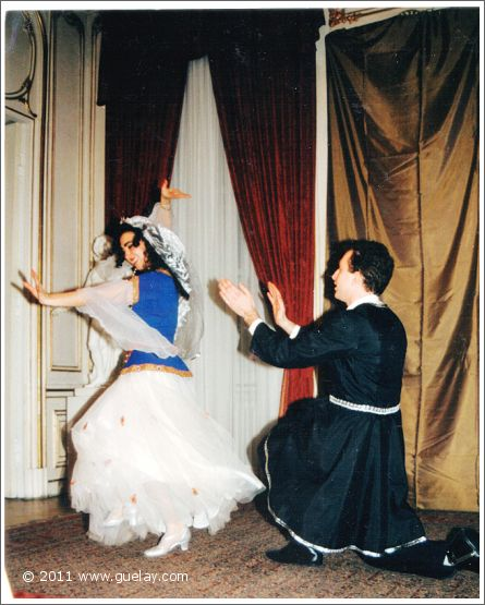 Gülay Princess, Hakan Pehlivan at Palais Palffy, Vienna (1991)