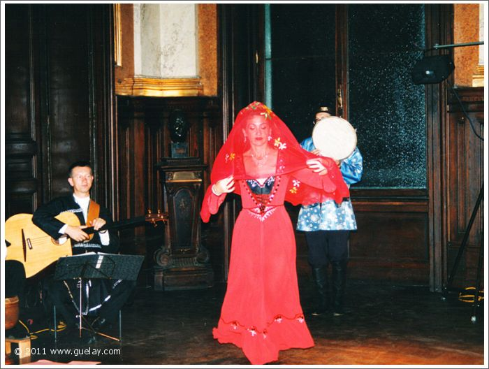 Gülay Princess at Palais Eschenbach, Vienna (1995)