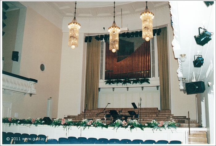 stage of Estonia Concert Hall
