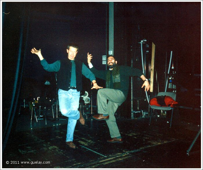 Alfred Stütz and Asim Al-Chalabi at Gasteig, Munich (1995)