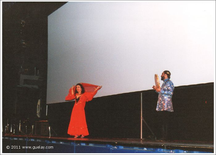 Gülay Princess and Josef Olt at Carl Orff Saal, Gasteig, Munich (1995)