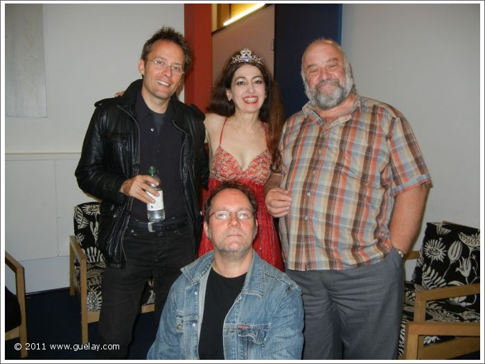 Marco Annau, Gülay Princess, Daniel Klemmer and John Field