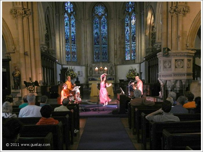 Gülay Princess & The Ensemble Aras at St Mary's Church, London