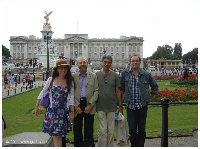 Gülay Princess, Josef Olt, Michael Preuschl and Daniel Klemmer at Buckingham Palace