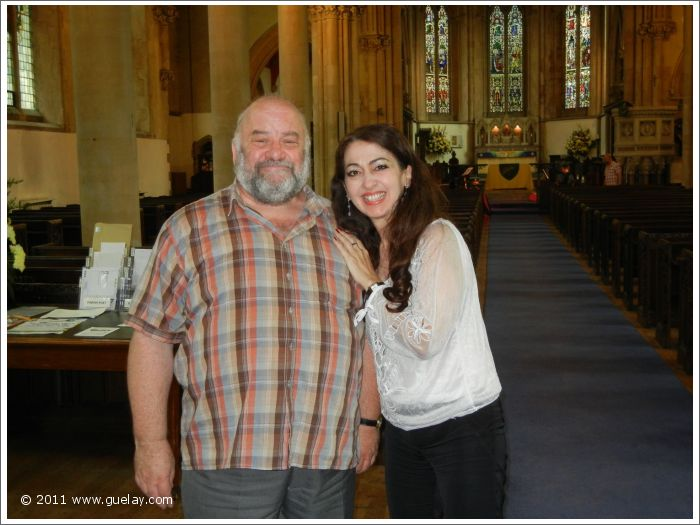John Field and Gülay Princess at St Mary's Church