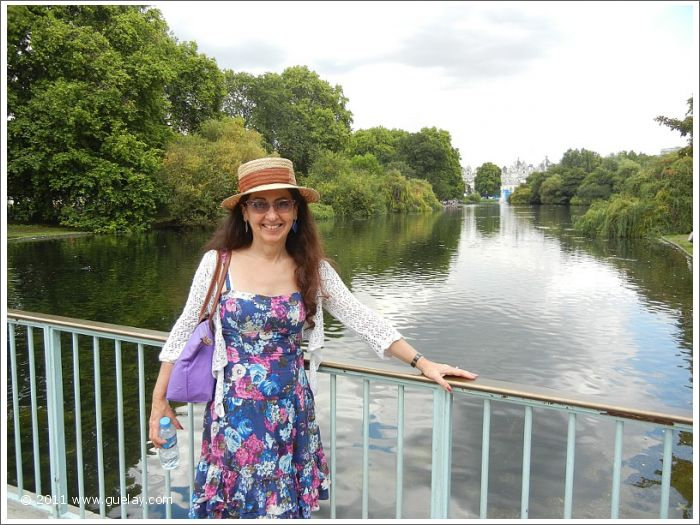 Gülay Princess at St James's Park, London