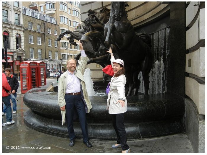 Josef Olt and Gülay Princess in London