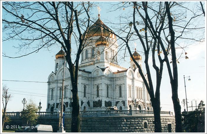 Cathedral of Christ the Saviour, Moscow (2001)