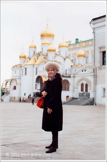 Gülay Princess in Kremlin