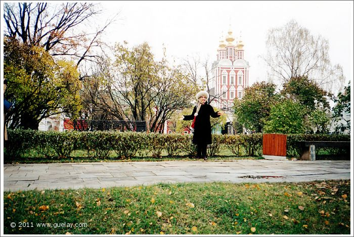 Gülay Princess at Novodevichy Convent in Moscow (2001)