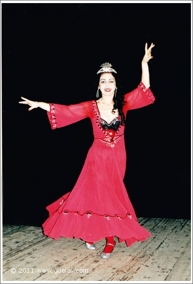 Gülay Princess at Young Actor's Musical Theatre in Moscow (2001)