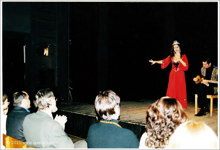 Gülay Princess and Nariman Hodjati at Young Actor's Musical Theatre in Moscow (2001)
