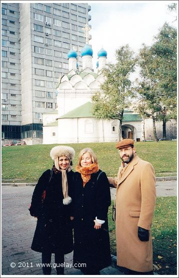 Gülay Princess, Reet Kudu and Josef in Moscow (2001)