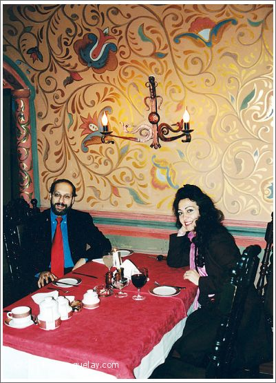 Josef Olt and Gülay Princess in Moscow (2001)
