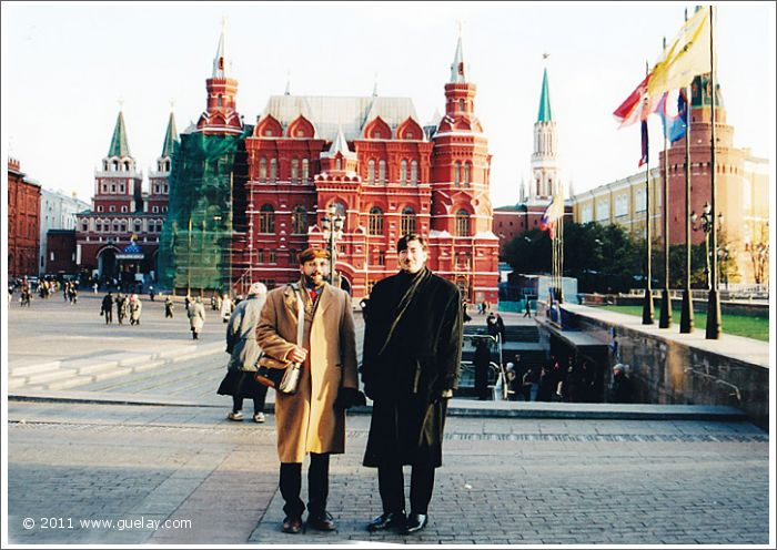 Josef Olt and Nariman Hodjati at State Historical Museum in Moscow (2001)