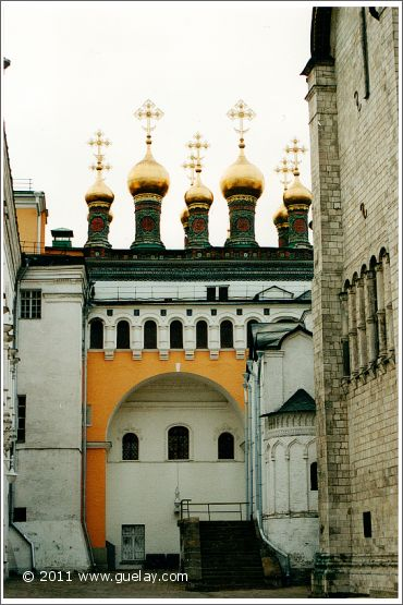 at Kremlin in Moscow (2001)