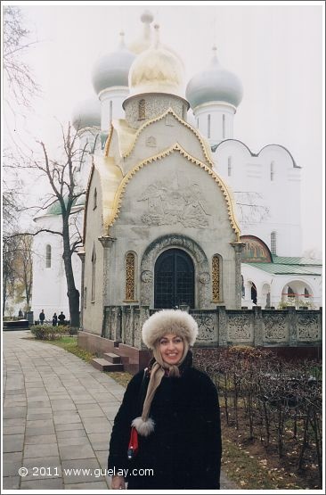 in the Novodevichy Convent