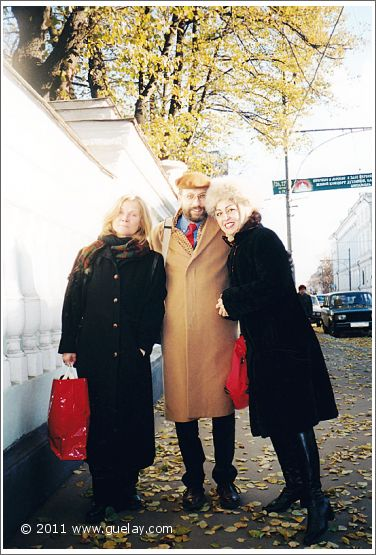 Reet Kudu, Josef Olt and Gülay Princess in Moscow (2001)
