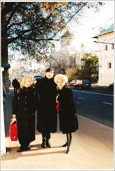 Reet Kudu, Nariman Hodjati and Gülay Princess in Moscow (2001)