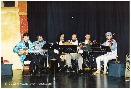 The Ensemble Aras at Theater des Augenblicks (1995)