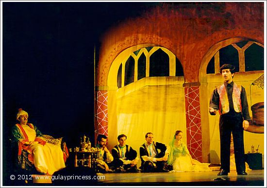 Shahrokh at Theater Akzent (1994)