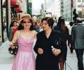 Gülay Princess and JoAnna Steffan in 5th Avenue, Manhattan, New York (2005)