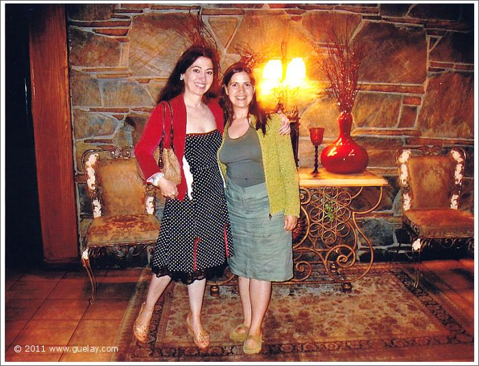 Gülay Princess and Ayşe Ulubay at Odyssey in San Fernando Valley, California (2006)