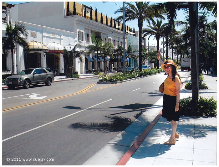 Gülay Princess at Rodeo Drive, Beverly Hills, California (2006)