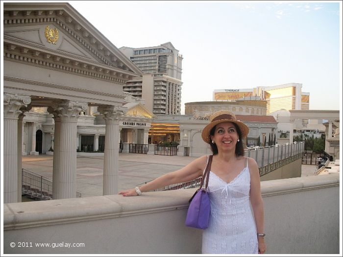 Gülay Princess at Cesar's Palace, Las Vegas, Nevada (2006)