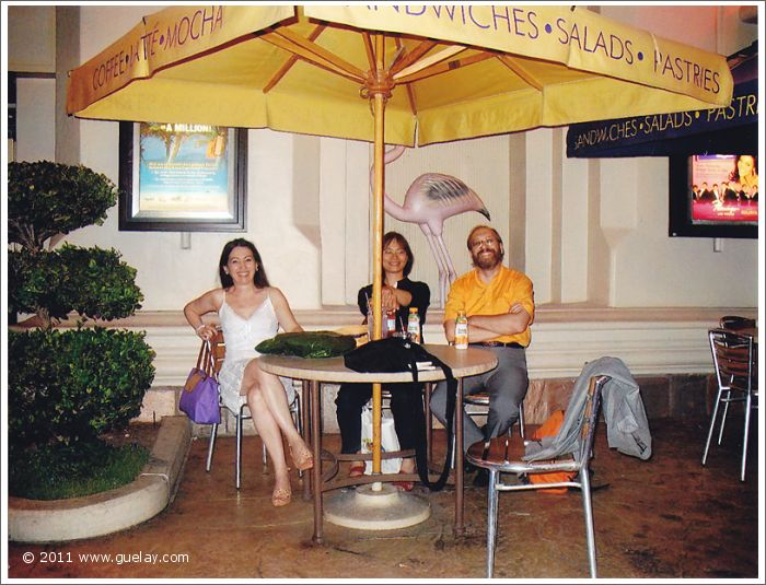 Gülay Princess, Ting Feng-Chiu and Josef Olt in Las Vegas, Nevada (2006)