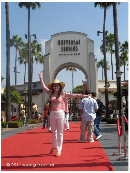 Gülay Princess at Universal Studios in Hollywood, California (2006)