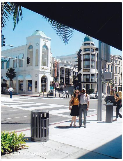 Gülay Princess and Josef Olt at Rodeo Drive in Berverly Hills, California (2006)