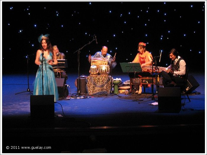 Gülay Princess & The Ensemble Aras at Lancaster Performing Arts Center, California (2006)