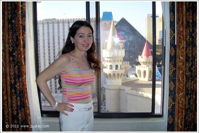 Gülay Princess at Hotel Excalibur in Las Vegas, Nevada (2006)