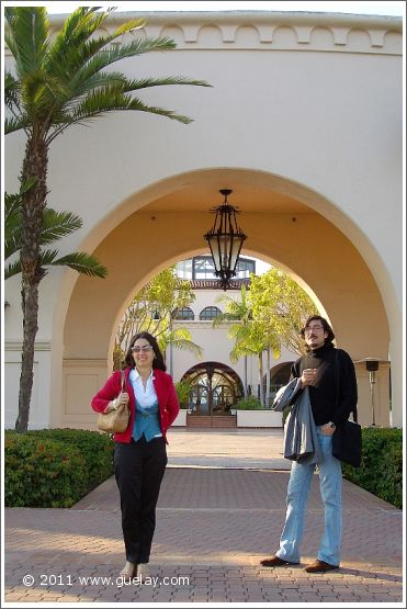 Gülay Princess and Nariman Hodjati in Santa Barbara, California (2006)