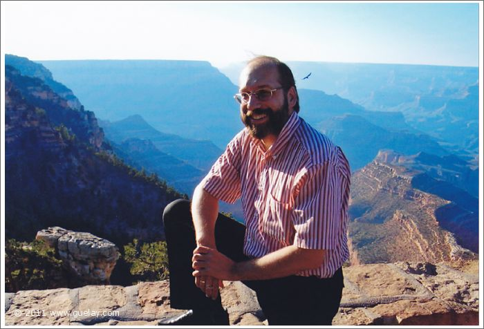 Josef Olt at Grand Canyon, South Rim, Arizona (2006)