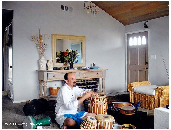 Leonice Shinneman in our accomodation, while rehearsal in Ventura, California (2006)