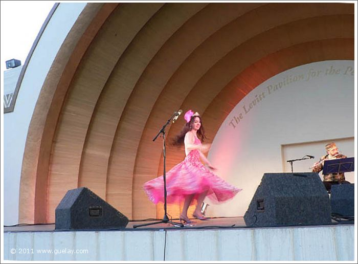 Gülay Princess at The Levitt Pavilion, Pasadena, California (2006)